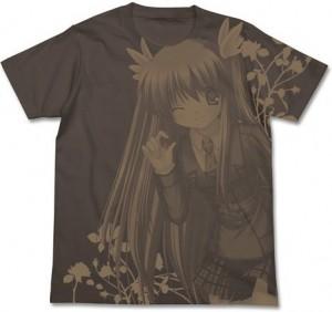 Rewrite 鳳ちはや Tシャツ チャコール