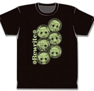 Rewrite Tシャツ A ちびキャラ
